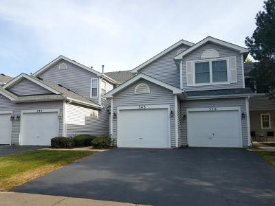 Schaumburg Condo/Townhouse For Sale: 343 Glen Byrn Court #8343A