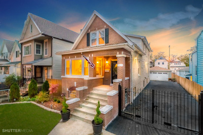 Chicago Single Family Home For Sale: 1820 North Keeler Avenue