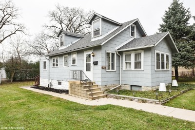 Westmont Single Family Home For Sale: 334 South Adams Street