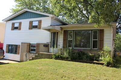 Oak Forest Single Family Home Contingent: 5645 James Drive
