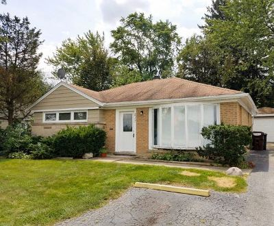 Park Forest Single Family Home For Sale: 217 Sauk Trail