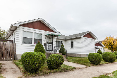 Calumet City Single Family Home For Sale: 625 Sibley Boulevard