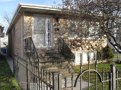 Chicago Single Family Home New: 5647 North Nagle Avenue