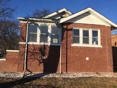 Hazel Crest Single Family Home For Sale: 16890 Park Avenue