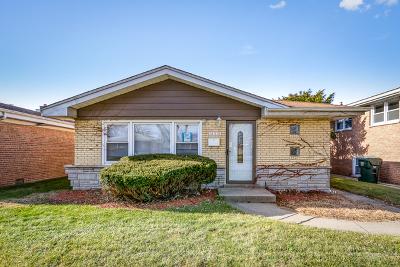 Dolton Single Family Home For Sale: 14318 Dorchester Avenue