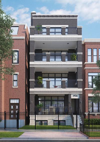 Chicago Condo/Townhouse New: 1926 North Cleveland Avenue #1