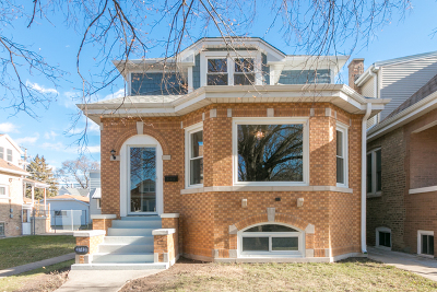 Chicago Single Family Home New: 3743 North New England Avenue