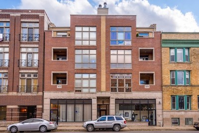 Chicago Condo/Townhouse New: 1475 West Irving Park Road #2W