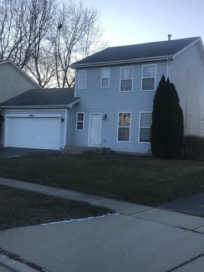 Carpentersville Single Family Home For Sale: 1884 Cambridge Drive