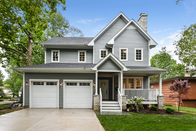 Hinsdale Single Family Home For Sale: 717 North Oak Street