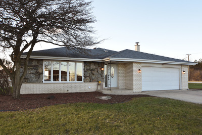 Orland Park Single Family Home For Sale: 15110 Larkspur Lane