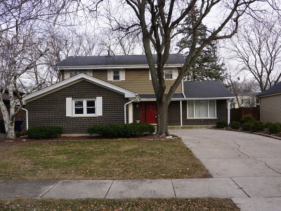 Flossmoor Single Family Home For Sale: 835 Maple Road