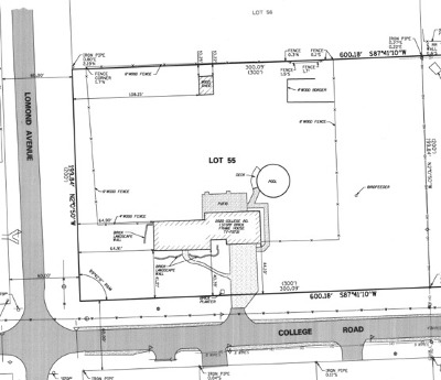 Downers Grove Residential Lots & Land New: 2520 College Road