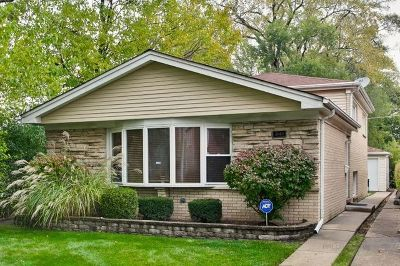 Chicago Single Family Home New: 3140 West Chase Avenue