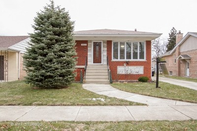 Evergreen Park Single Family Home Price Change: 10037 South Homan Avenue