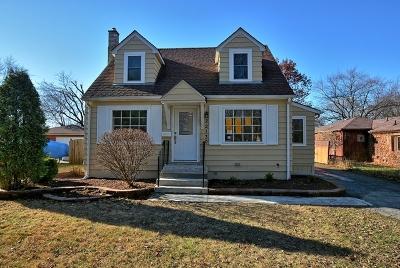 Richton Park Single Family Home New: 22130 Millard Avenue