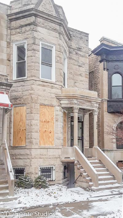 Chicago Single Family Home New: 4914 South Washington Park Court