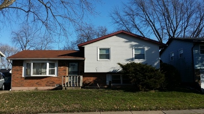 Sauk Village Single Family Home For Sale: 21817 Clyde Avenue