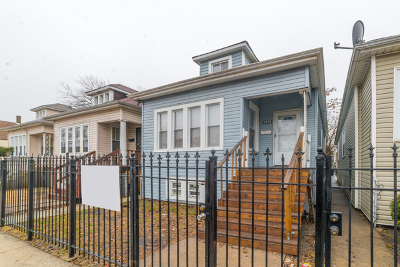 Chicago Single Family Home New: 6350 South Seeley Avenue