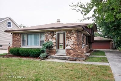 Alsip  Single Family Home For Sale: 11529 South Laramie Avenue