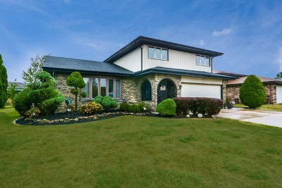 Tinley Park Single Family Home Price Change: 8318 163rd Street