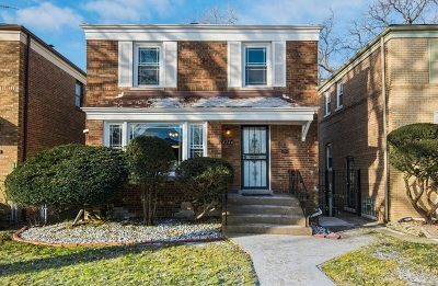 Chicago IL Single Family Home New: $191,000