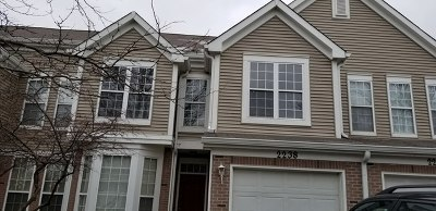 Plainfield Condo/Townhouse New: 2238 Rossiter Parkway #2238