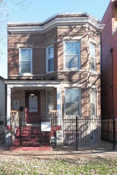 Chicago Multi Family Home New: 1627 North Washtenaw Avenue