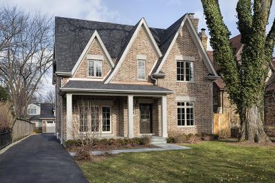 Wilmette Single Family Home For Sale: 2034 Chestnut Avenue