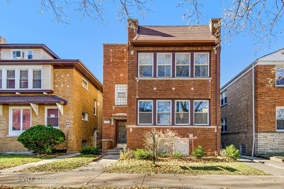 Chicago Multi Family Home New: 6432 North Rockwell Street