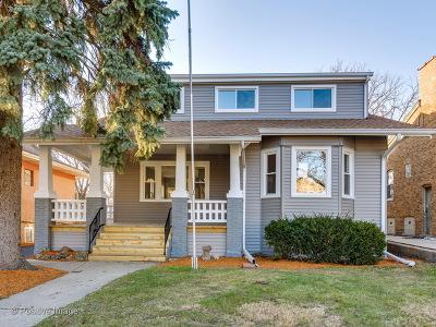 Chicago Single Family Home New: 2434 North Sayre Avenue