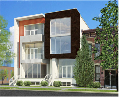 Chicago Condo/Townhouse New: 1605 West Ohio Street #2