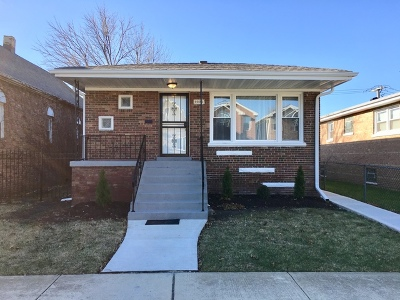 Chicago IL Single Family Home New: $164,900