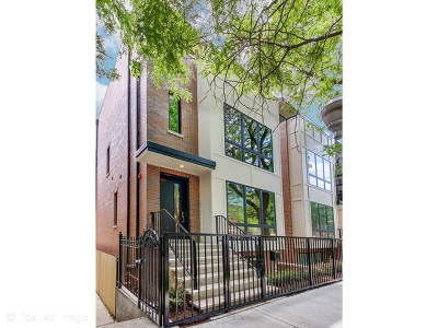 Chicago Single Family Home New: 2225 West Lyndale Street