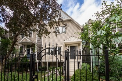 Chicago Single Family Home New: 2642 North Burling Street