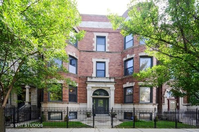 Chicago Condo/Townhouse For Sale: 4935 South Vincennes Avenue #1N