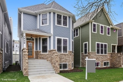 Chicago Single Family Home New: 1649 West Edgewater Avenue