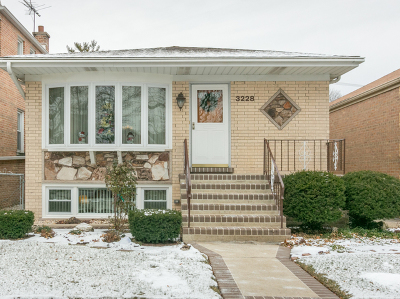 Chicago IL Single Family Home New: $374,900
