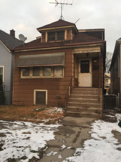 Chicago IL Single Family Home New: $84,900