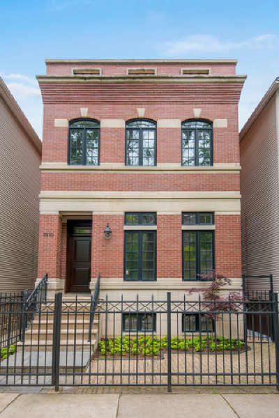Chicago Single Family Home New: 1510 West Melrose Street