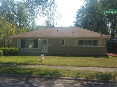 Will County Single Family Home New: 187 Shabbona Drive