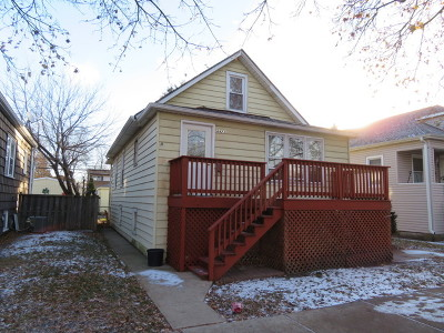 Chicago Single Family Home New: 4423 North Melvina Avenue