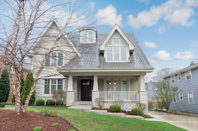 Glen Ellyn, Wheaton, Lombard, Winfield, Elmhurst, Naperville, Downers Grove, Lisle, St. Charles, Warrenville, Geneva, Hinsdale Single Family Home Price Change: 527 West Chicago Avenue