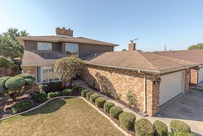 Oak Lawn Single Family Home For Sale: 5725 West 101st Place