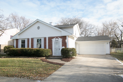South Holland Single Family Home For Sale: 16061 Woodlawn East Avenue