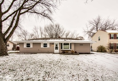 Schaumburg Single Family Home For Sale: 1709 West Weathersfield Way