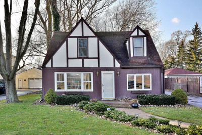 Lombard Single Family Home Contingent: 306 North Edgewood Avenue