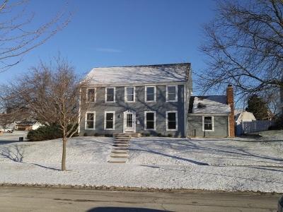 Hoffman Estates Single Family Home Price Change: 1995 Fairway Court