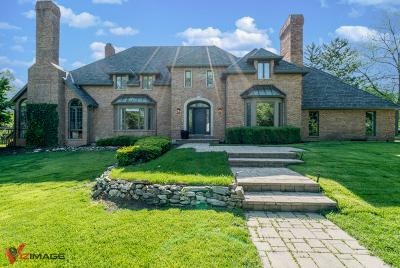 Burr Ridge Single Family Home Price Change: 6200 Cove Creek Court