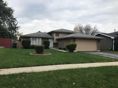 Country Club Hills  Single Family Home For Sale: 18700 Willow Avenue